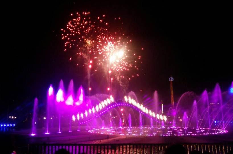 江西南昌融创主题乐园音乐喷泉项目
