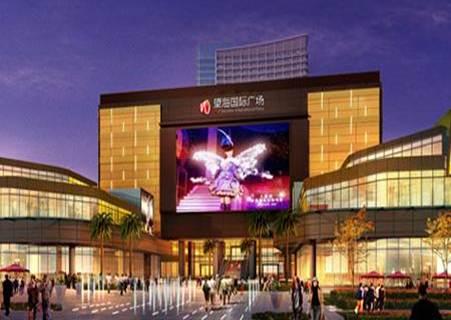 海南海口望海国际广场多媒体音乐喷泉项目