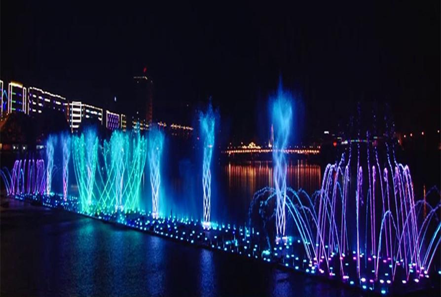 四川雅安音乐喷泉项目
