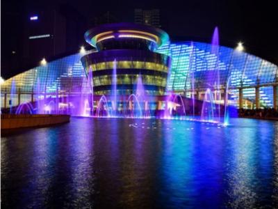 广东珠海华发世纪城音乐喷泉项目