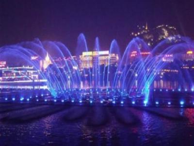 广东珠海长隆海洋王国水景项目