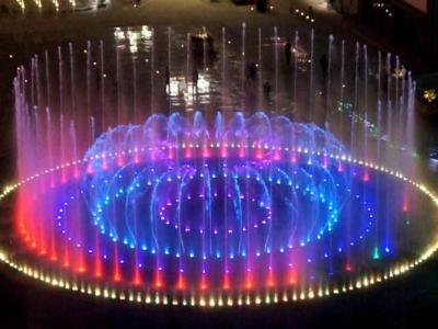 西藏昌都茶马广场音乐喷泉项目