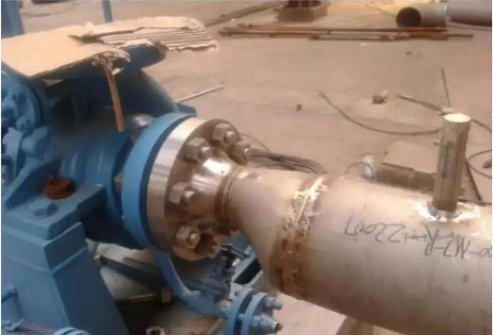 泵入口偏心大小头的问题,这样处理妥妥的...(图1)